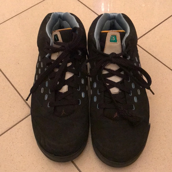 cee710b880850f EUC Black   Blue Men s Air Jordan Melo ~ size 11
